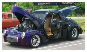 Purple Street Rod by TheMan268