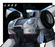 Jazz G1 comic style by Bloo-DKai12