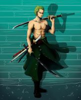 Swordsman by SarahSoak