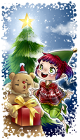 Little drawing for Christmas :3 by x-Tsuka-x