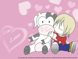 Cow Love by Sephirot-Unknown