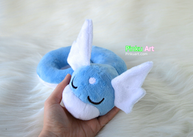 Sleepy Dratini plush V3