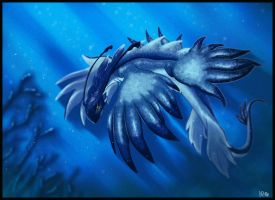 Blue Dragon (Glaucus Atlanticus) by xXNikleXx