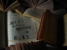 everything you read by evilpixieduster