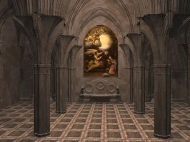 Chapel Stock 2 by Casperium
