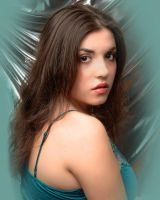 Annie Studio Shoot-Teal by dnaphotographic