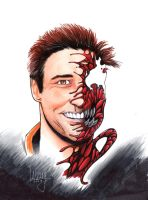 Jim Carrey as Carnage by LangleyEffect