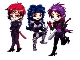my band in Anime status by Ooh-A-piece-of-Candy