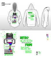 Hoodie Contest 8-Bits    RETRO GAMER PRIDE by Daeron-Red-Fire