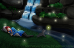 Peaceful Night by NocturnalVentus