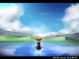 Touhou Suwako the God of Lake by KANE-NEKO