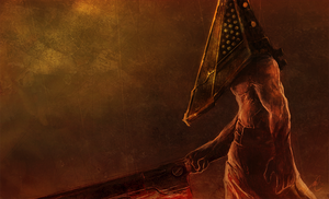 Pyramid Head by bustercloud