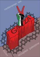 blockade of GAZA after victory by zealousofpeace