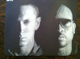 Bad Meets Evil 2 by Stencils-by-Chase
