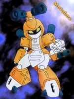 Metabee from Medabots by cloud-ff7