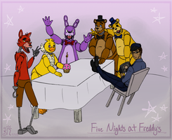 Five Nights At Freddy's by SunnySunRise