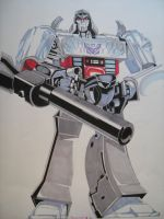 THE MIGHTY MEGATRON by ARTIEFISHEL79