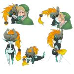 Midna x Link by ManiacPaint