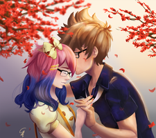 Request: Glasses Couple by SurrealMime
