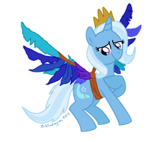 Behold Princess Trixie by bibliodragon
