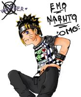 Emo Naruto of the E.N.P. by HeatherISsasuke