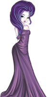 Purple Gown by PhoeC