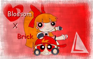 ppgz Brick and Blossom - ppg style by BoomerXBubbles