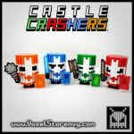 Castle Crashers by VoxelPerlers