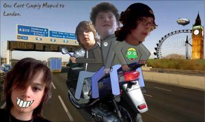 One Cant Moped to London by EpicOverload