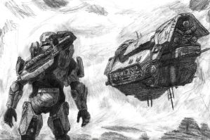 Halo 4: Arrival by swiftadmiral117