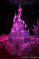 Ice Disney Castle by Iscariath