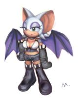 SA2 Rouge outfit by E09ETM