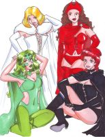 Hellfireclub Queens by Suechan by singory