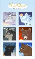 WolfQuest Avatars 2 by nooby-banana