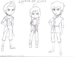 The Legend Of Korra by Suemoons