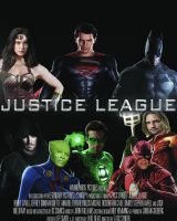 Justice League Poster by Rated-R4-Ryan