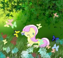 Fluttershy by LadyMaid-of-Pokemon
