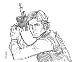 Work in Progress: Han Solo by Hodges-Art