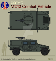 USCMC M242 Combat Vehicle by Wolff60