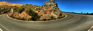 Mountain Road HDR by amrodel