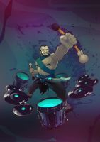 The Four Soundmen - The Drum by call-me-Hk