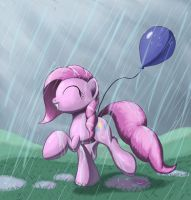 Skipping through the Rain by Grennadder