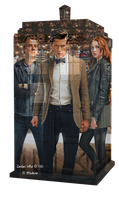 The Doctor, Amy and Rory IV by Meikiro