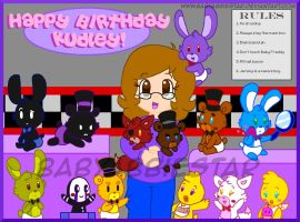 Gift: Happy Birthday, Kudley! by BabyAbbieStar