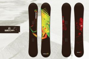 Salomon Snowboards Contest by denull