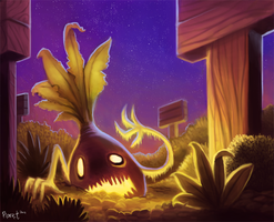 Daily 13 - Revenge of the Rabid Radishes by Cryptid-Creations