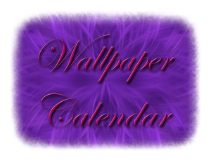 Wallpaper Calendar No. 2 by MelMuff