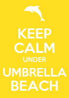 Umbrella Beach by Soleospace