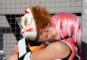 an anbu kiss by SenninUzumaki