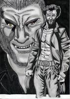 Logan and Victor_Poster by Chimera9